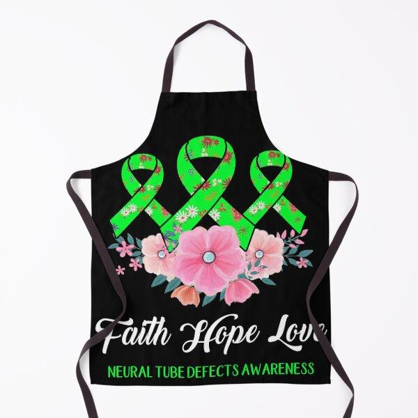 Faith Hope Love Neural Tube Defects Awareness Apron