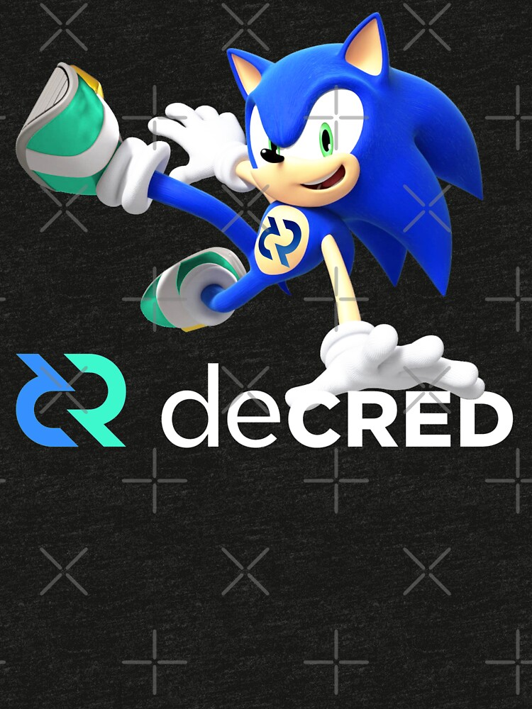 Decred the hedgehog v1 by OfficialCryptos