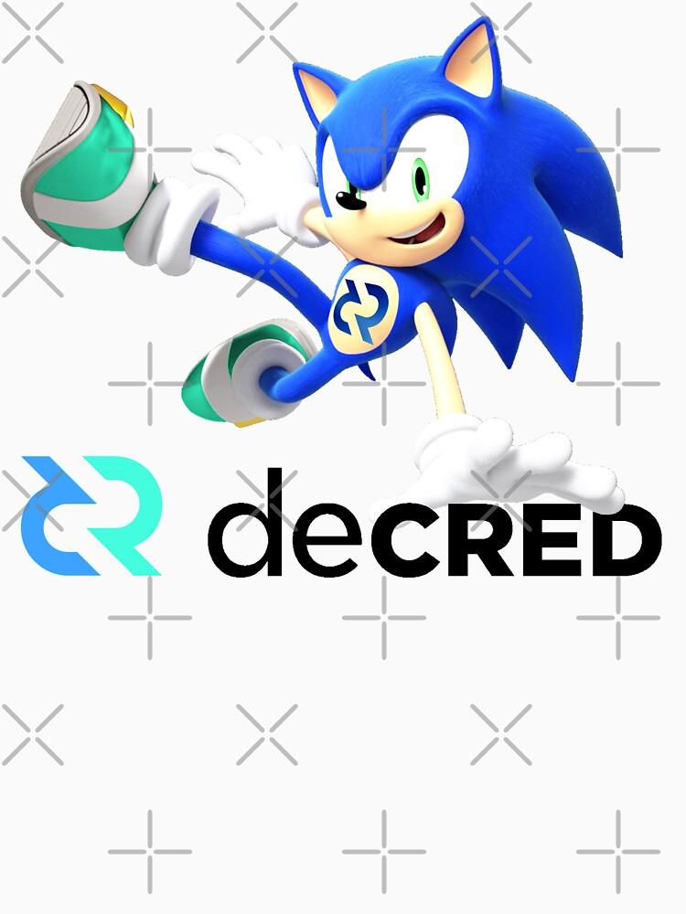 Decred the hedgehog v2 by OfficialCryptos
