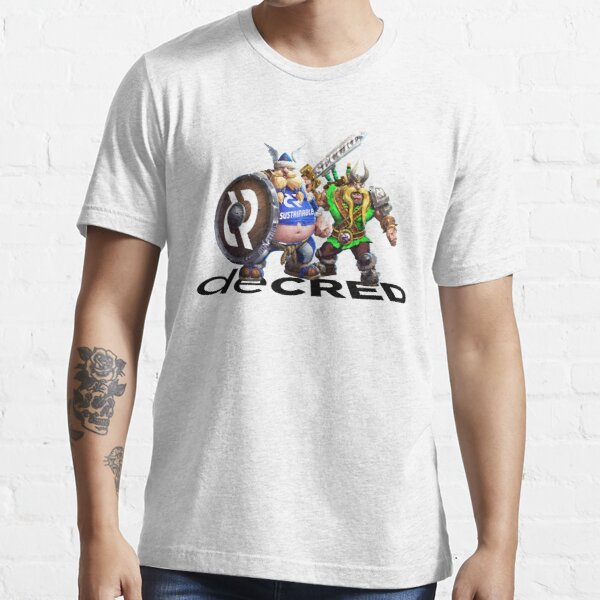 Decred Vikings v2 Essential T-Shirt