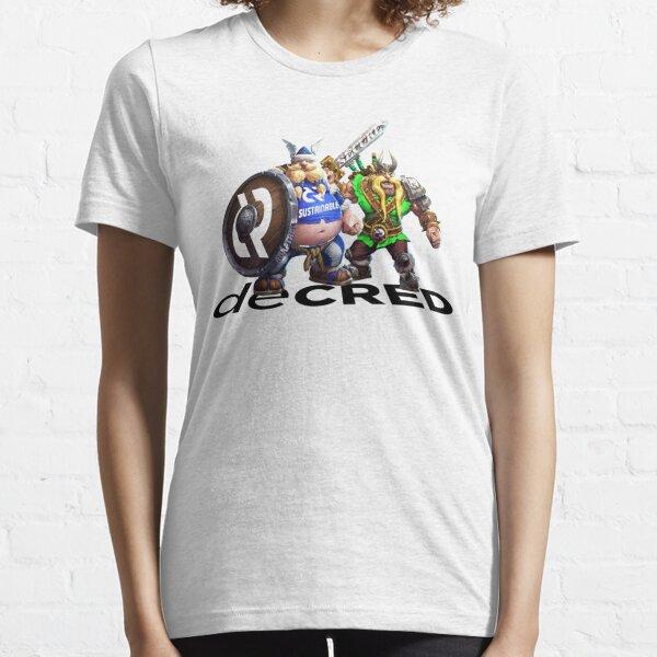 Decred Vikings v2 Essential T-Shirt