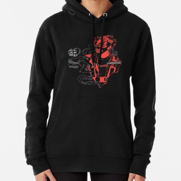C+ Husband / I will incite chaos by Merch Side Design Pullover Hoodie