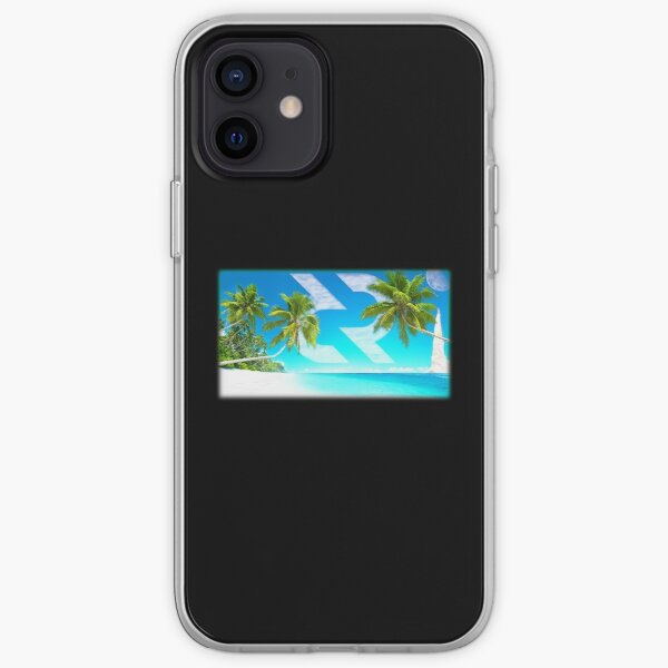 Decred moon mission beach iPhone Soft Case