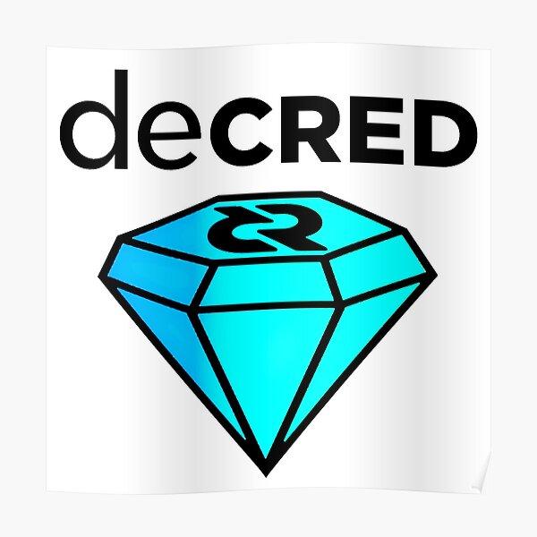 Decred gem v2 Poster