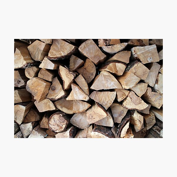 fire wood   Photographic Print