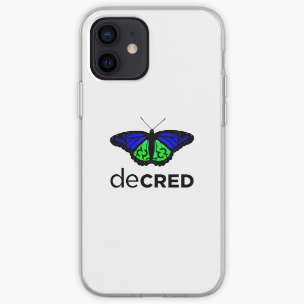 Decred evolved v1 iPhone Soft Case
