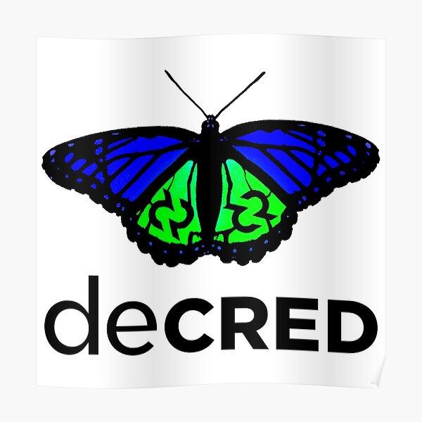 Decred evolved v1 Poster