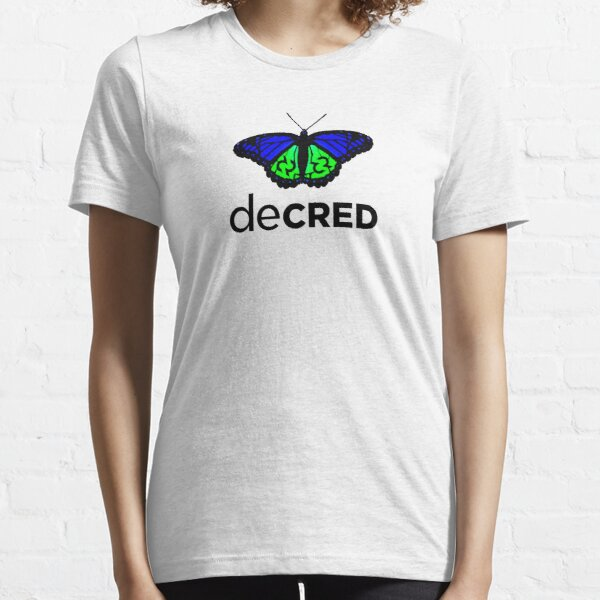 Decred evolved v1 Essential T-Shirt
