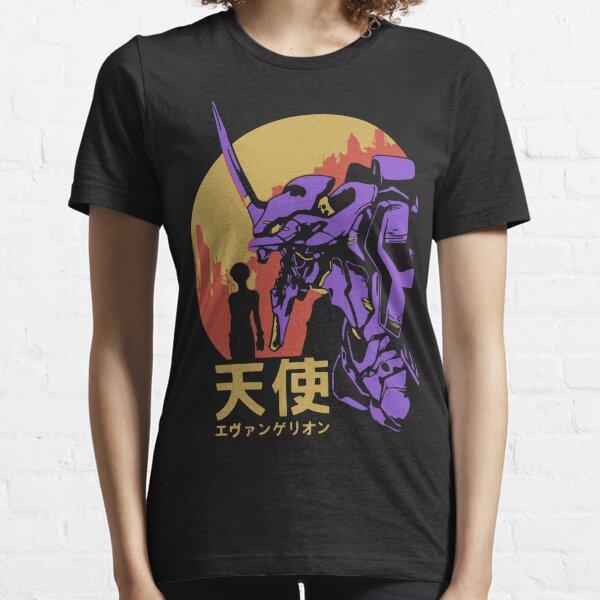 Neon Genesis Evangelion Retro Vintage Camiseta esencial