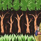Fungus Trees by RacieB
