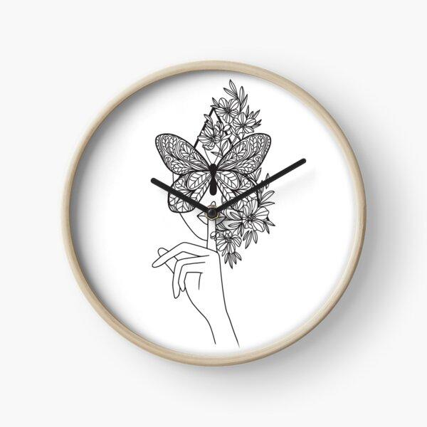 Feminine grace Clock