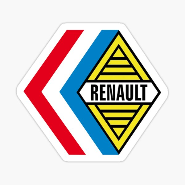 RENAULT SPORT COMPETITION 1970 Sticker