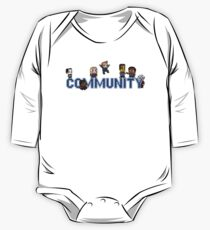 Community Logo with Characters One Piece - Long Sleeve