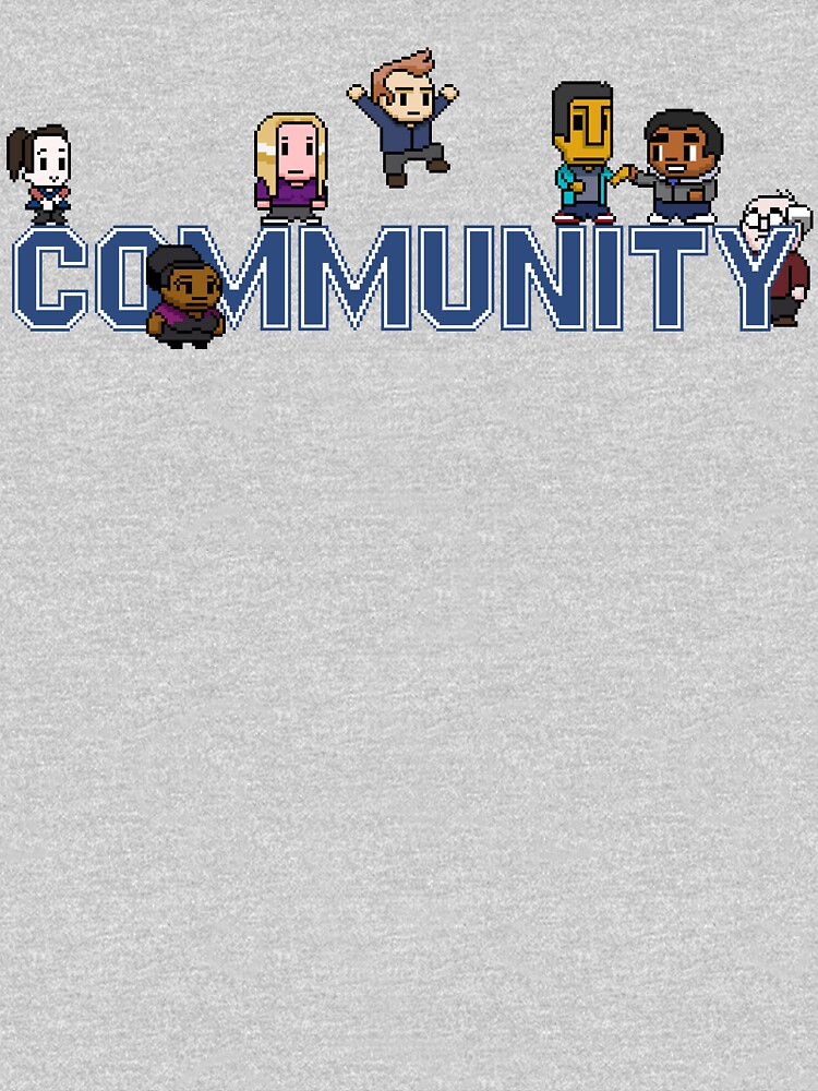 Community Logo with Characters by herderofcats