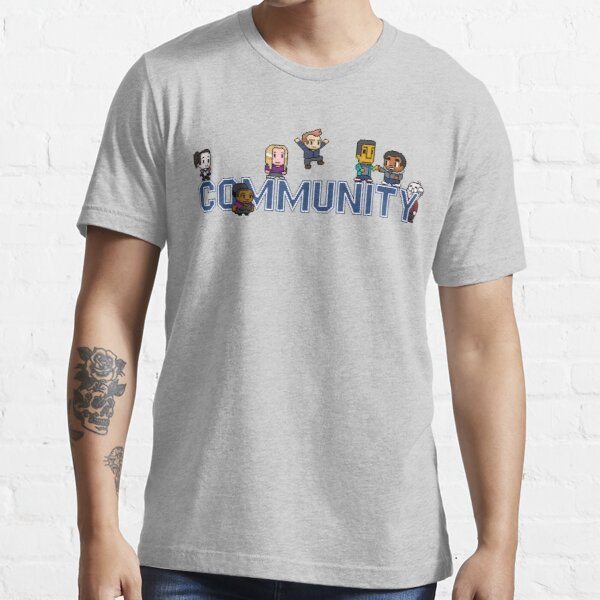 Community Logo with Characters Essential T-Shirt