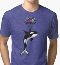 Big Orca, Bigger Dreams Tri-blend T-Shirt