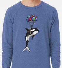 Großer Orca, größere Träume Leichtes Sweatshirt