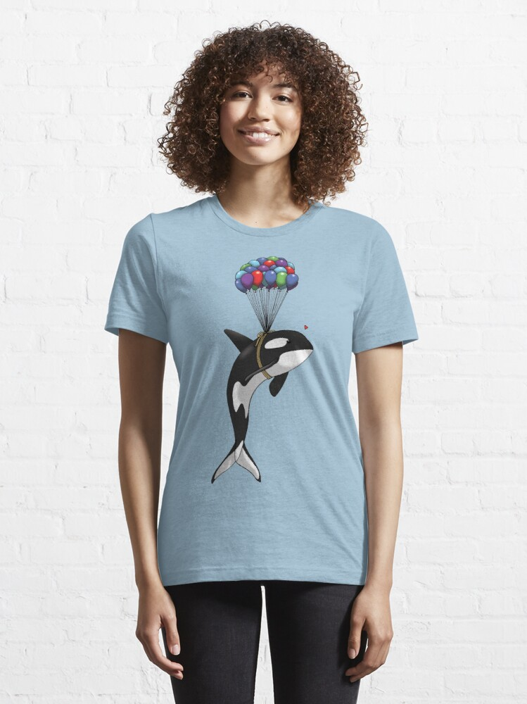 Alternate view of Big Orca, Bigger Dreams Essential T-Shirt