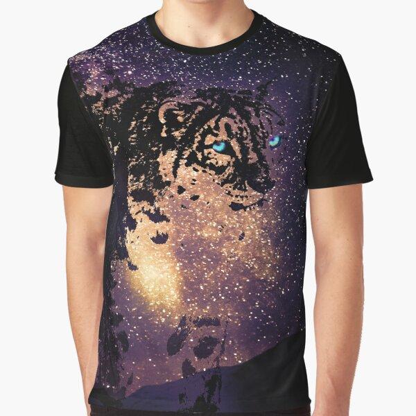 Snow leopard Graphic T-Shirt