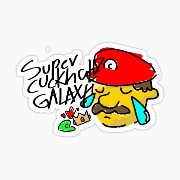 Super Cuckhold Galaxy Sticker