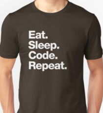 Eat. Sleep. Code. Repeat. T-Shirt
