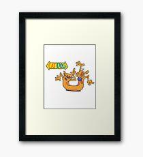 CatDog Framed Print