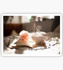 Il est toujours l'heure du thé Sticker