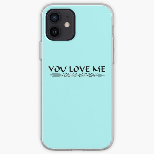 You Love Me, Real or Not Real? - Hungergames mockingjay part 2 iPhone Soft Case