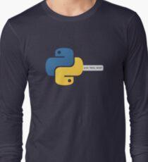 Python hello, world! program Long Sleeve T-Shirt