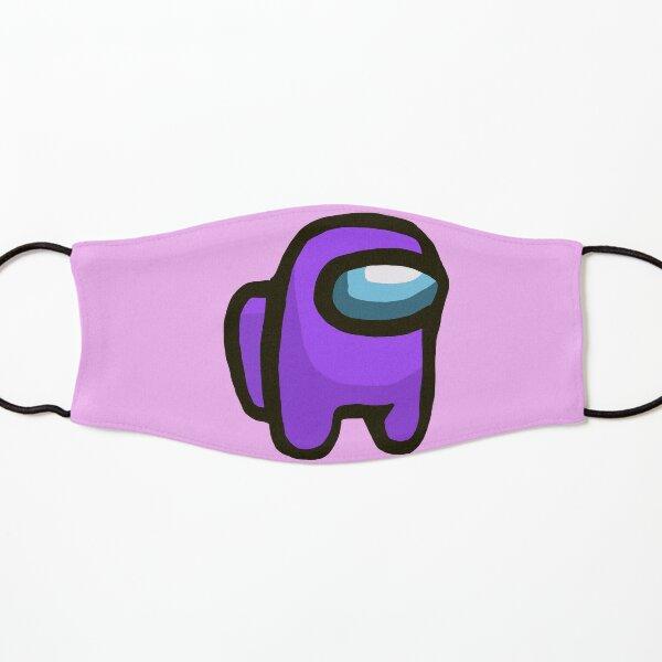 Purple crewmate Kids Mask