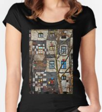 Kunst Haus Wien Women's Fitted Scoop T-Shirt