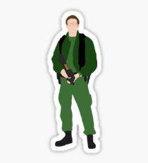 Stargate SG1 - Minimalist Jackson Sticker