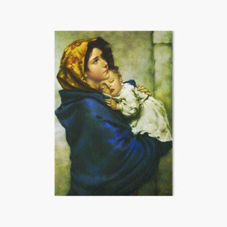 Madonnina - Virgin Mary - Madonna of the Streets  Art Board Print