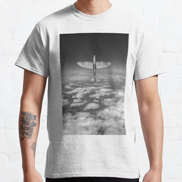 A cut above, black and white version Classic T-Shirt