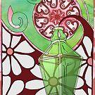 70's Genie Bottle by Barbora  Urbankova