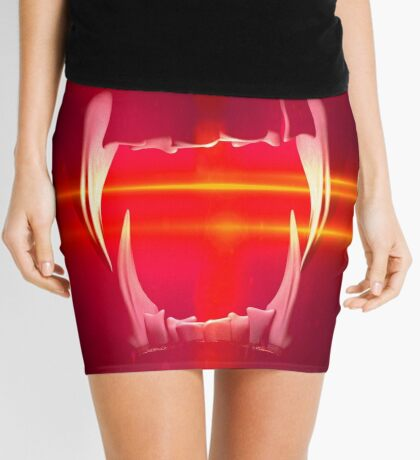 BlackDiamond famous last words - YOU COME ON THE GRILL Mini Skirt