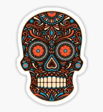 skull sugar Sticker