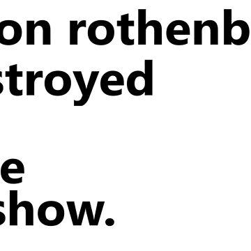 Jason Rothenberg destruyó mi programa favorito. de Schmelzbeth
