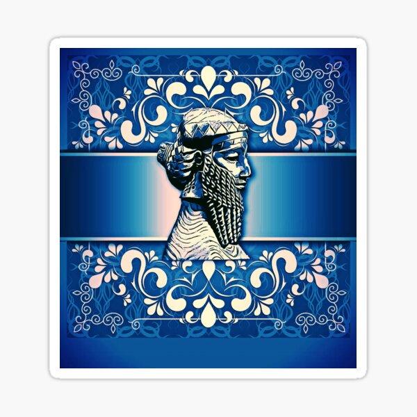 Assyrian King SARGON II Sticker