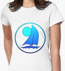 Blue Sailboat T-Shirt