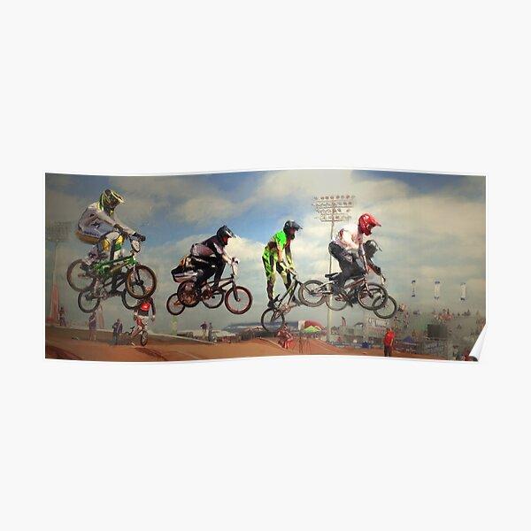 BMX -In Flight Poster