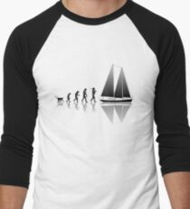Sailing Evolution Men's Baseball ¾ T-Shirt