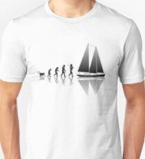 Segeln Evolution Unisex T-Shirt