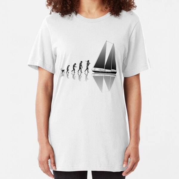 Sailing Evolution Slim Fit T-Shirt