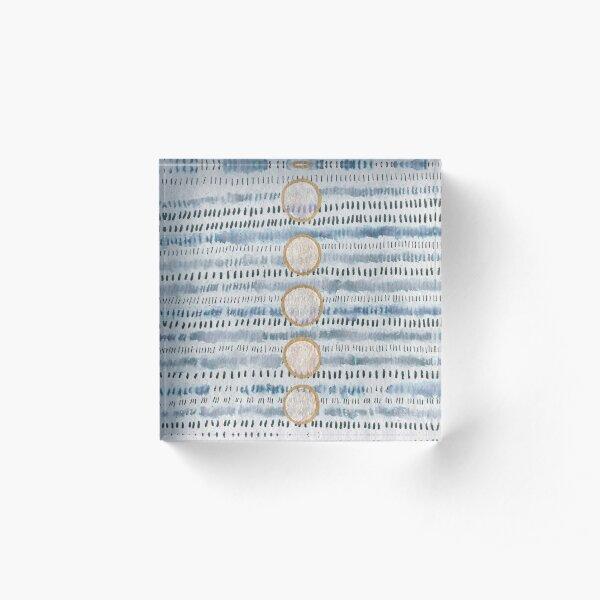 Aligned : Abstract Acrylic Block