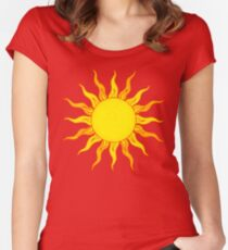 Grunge Sun Women's Fitted Scoop T-Shirt