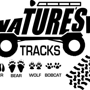 Nature's Offroad Tracks by jeepstyletees