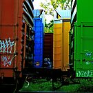 Triple Train by rumimume