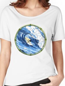 Surfing The Pipe Women's Relaxed Fit T-Shirt