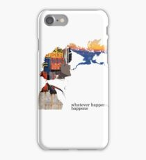 Spike Spiegel - Whatever happens iPhone Case/Skin